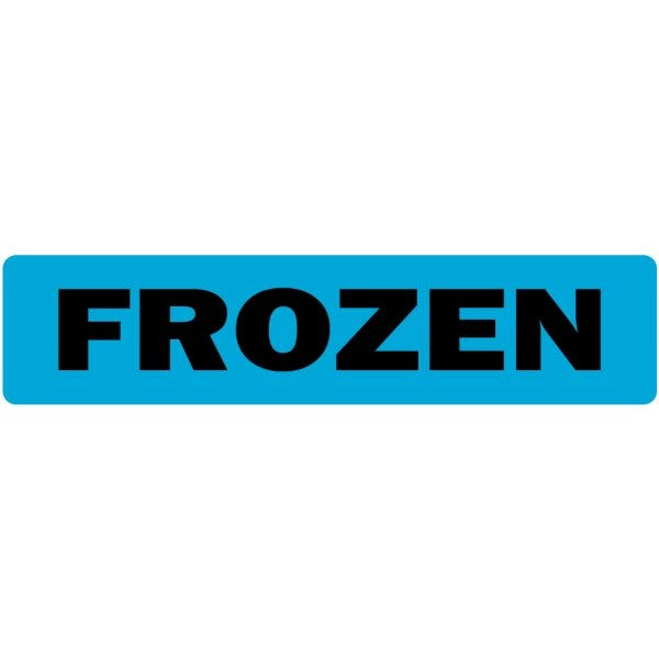Frozen Medical Labels