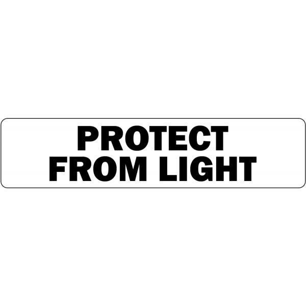 Protect from Light Medical Labels