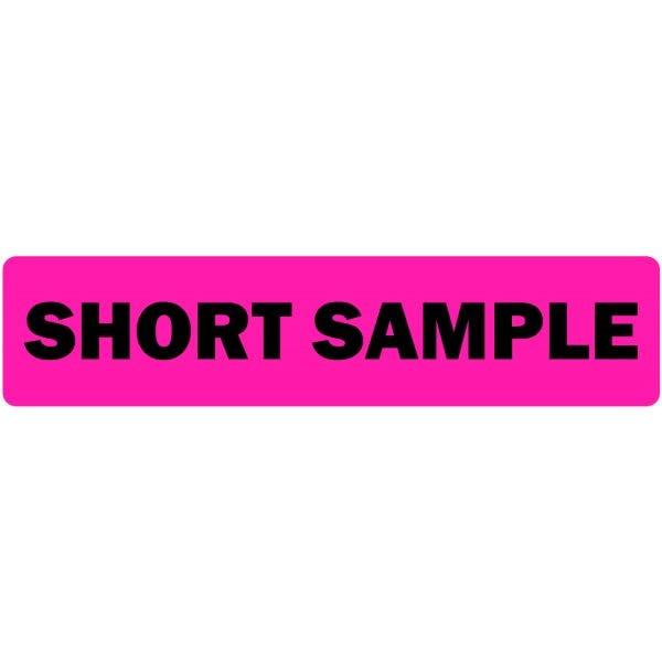 Short Sample Medical Labels