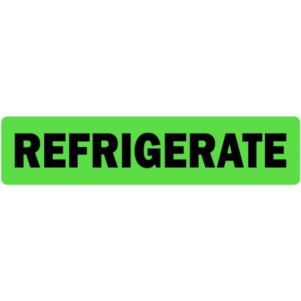 Refrigerate Medical Labels