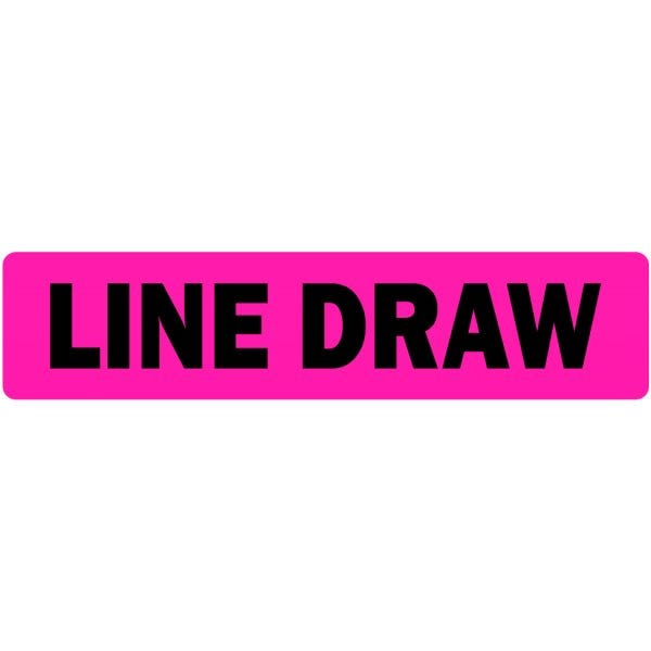 Line Draw Medical Labels