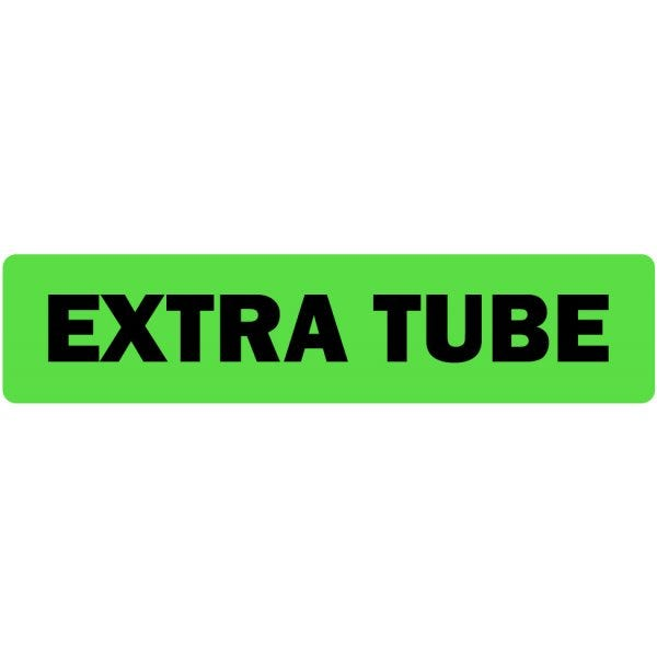 Extra Tube Medical Labels