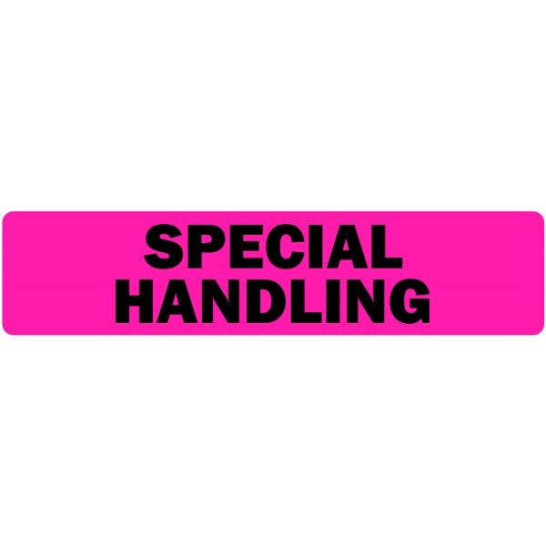 Special Handling Medical Labels