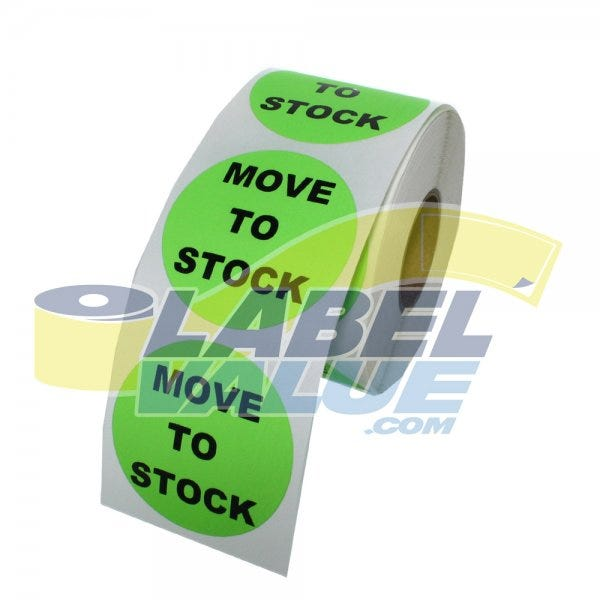 Move to Stock Inventory Labels 1.5""