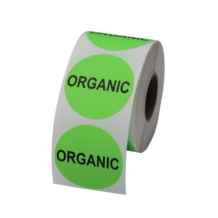 "Organic Labels 1.5"""