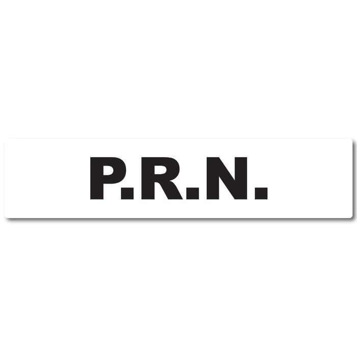 P.R.N. Medication Instruction Labels