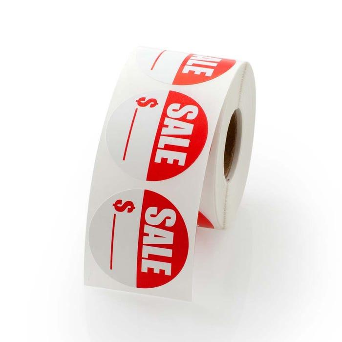 "Sale Price Labels 1.5"""