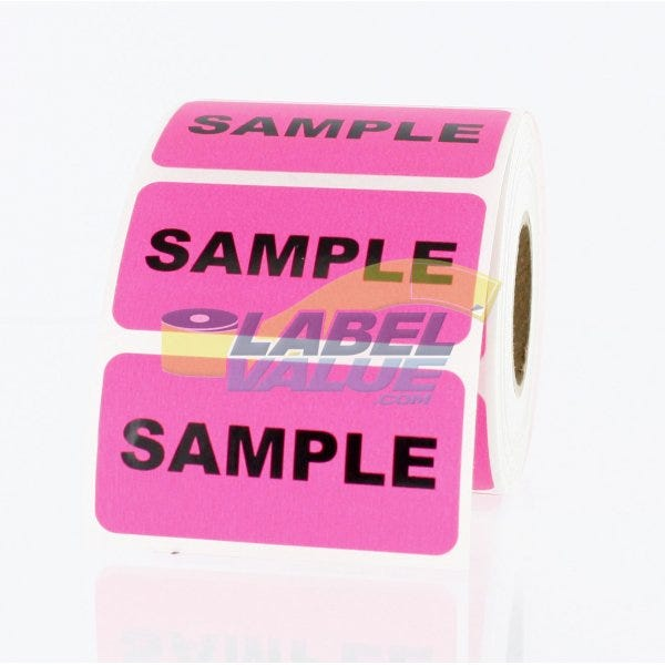 """Sample Inventory Labels 2"""" x 1"""""""