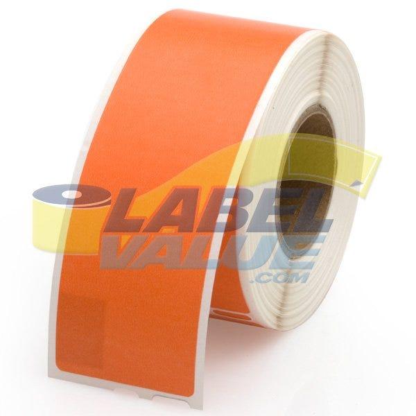 Seiko Compatible LV-SLP-1OLB Orange Address Labels