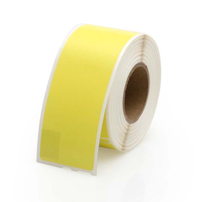 Seiko Compatible LV-SLP-1YLB Yellow Address Labels