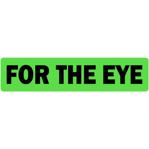 For The Eye Veterinary Labels