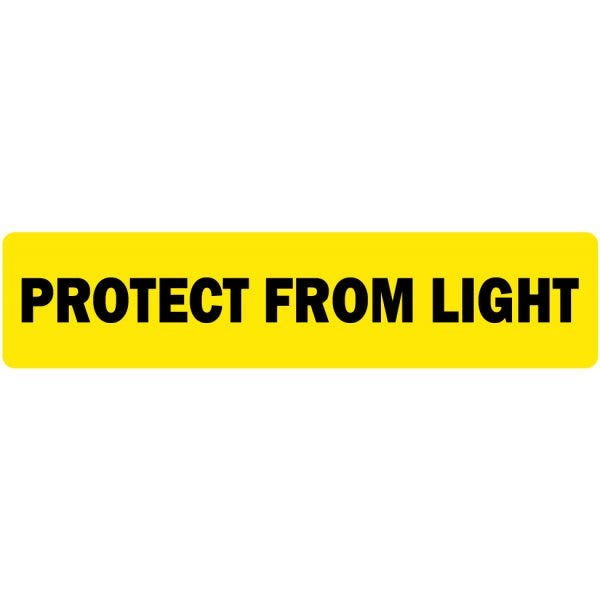 Protect from Light Veterinary Labels
