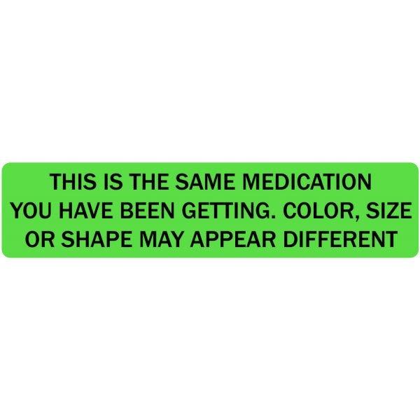 Same Medication Veterinary Labels