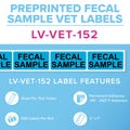 Fecal Sample Veterinary Labels