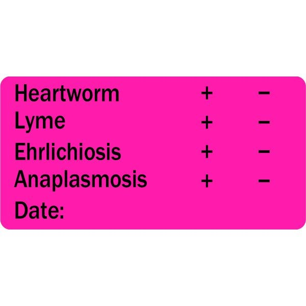 Heartworm Lyme Ehrlichiosis Anaplasmosis Veterinary Labels