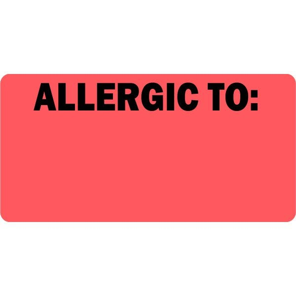Allergic To Veterinary Labels