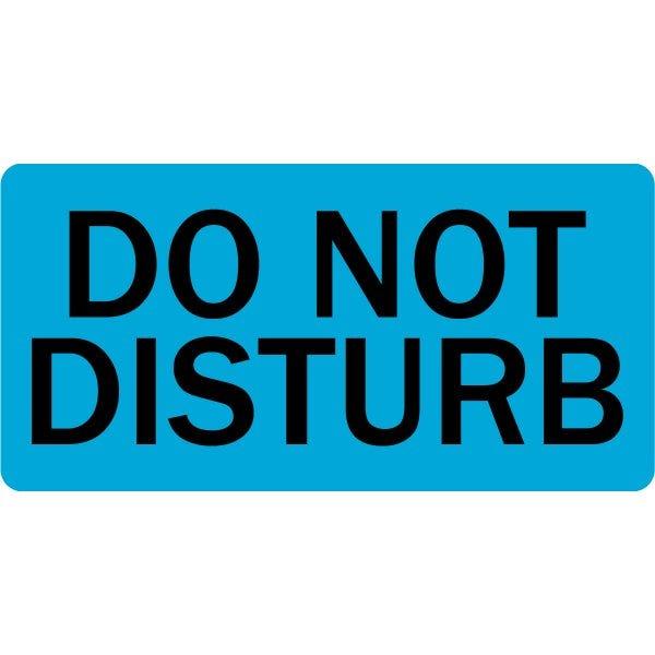 Do Not Disturb Veterinary Labels