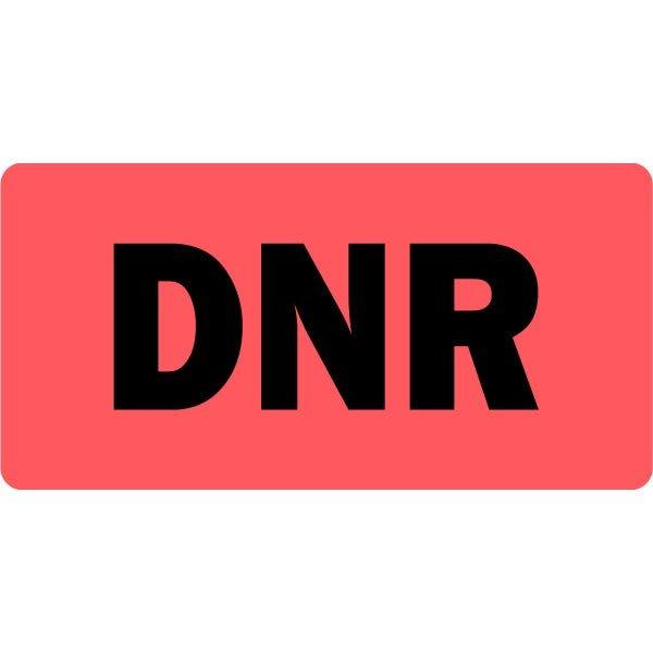 DNR Medical Labels