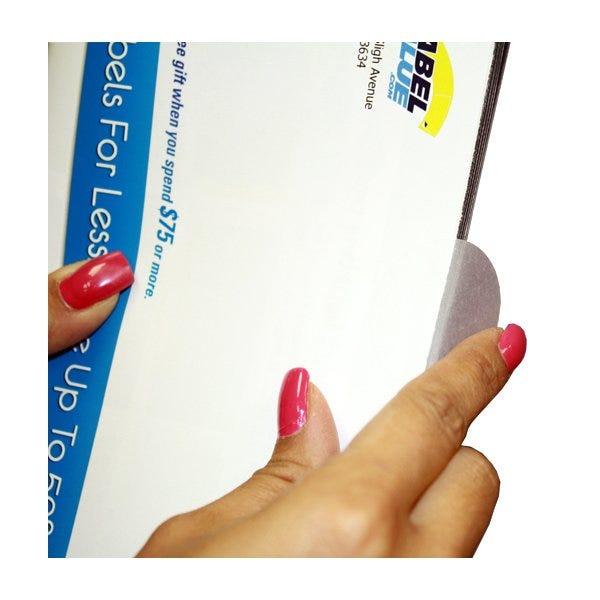"1.5"" Round Labels - Translucent Mailing Wafer Seals"