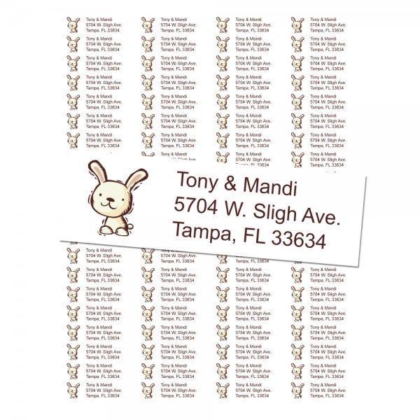 Rabbit Return Address Labels