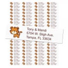 Tiger Return Address Labels