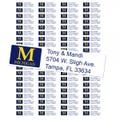 University of Michigan Custom Return Address Labels