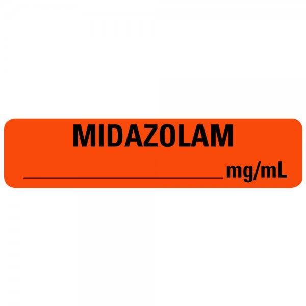 MIDAZOLAM Medical Labels