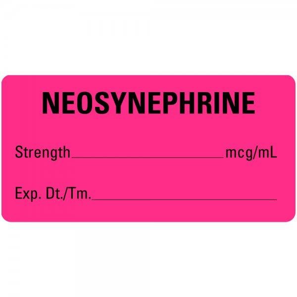 NEOSYNEPHRINE Medical Labels