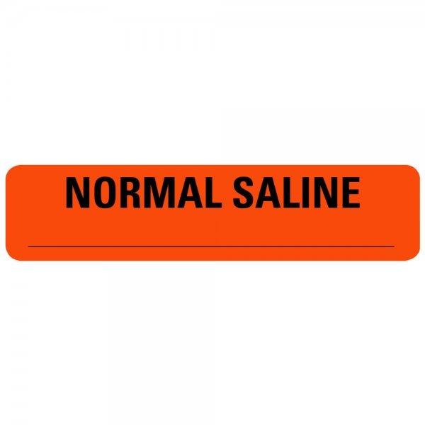 NORMAL SALINE Drug Syringe Labels