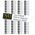 University of Notre Dame Fighting Irish Custom Return Address Labels