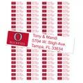 Ohio State University Buckeyes Custom Return Address Labels