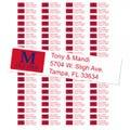 University of Mississippi Ole Miss Custom Return Address Labels
