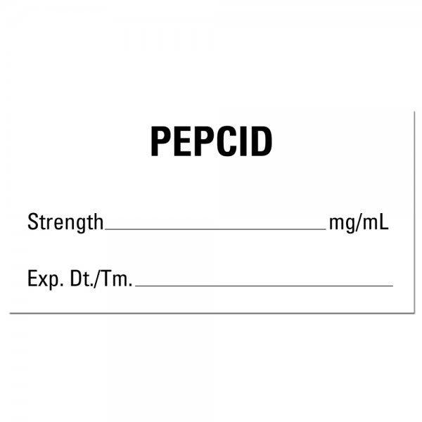 PEPCID Medical Labels