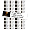 Princeton University Tigers Custom Return Address Labels