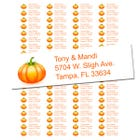 The Great Pumpkin Return Address Labels