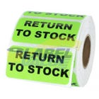 "Return to Stock Inventory Labels 2"" x 1"""