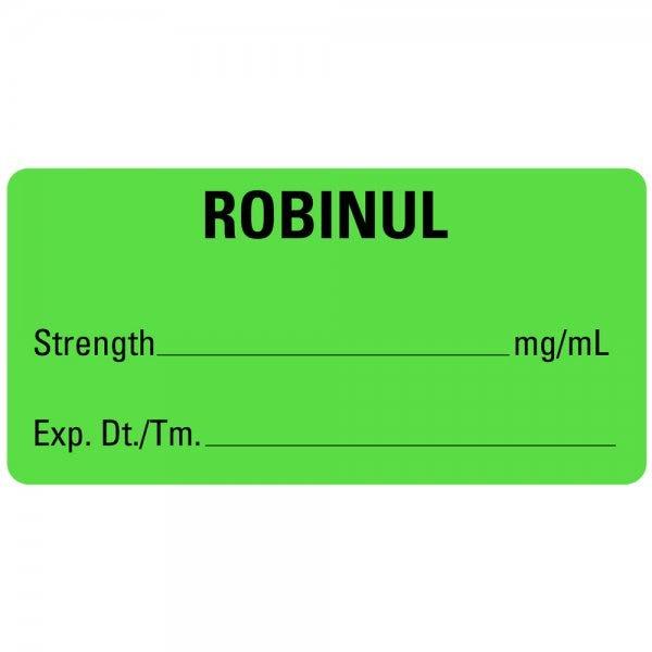 ROBINUL Medical Labels