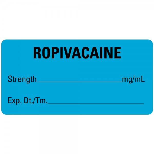 ROPIVACAINE Medical Labels