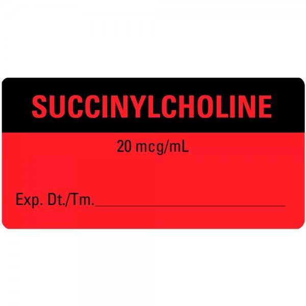 SUCCINYLCHOLINE Medical Labels