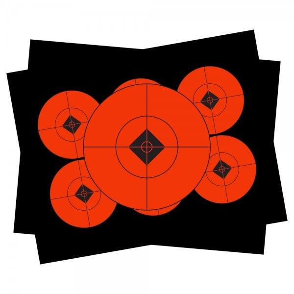 "Self-Adhesive Target Spots 3"" 60 Targets"