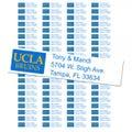 University of California-LA Bruins Custom Return Address Labels