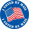 I Voted By Mail Stickers