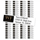 Wake Forest University Deacons Custom Return Address Labels
