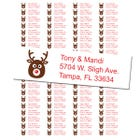 Reindeer Return Address Labels