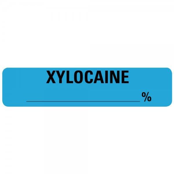 XYLOCAINE Percentage Drug Syringe Labels
