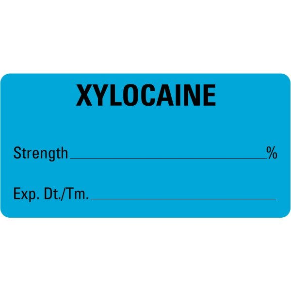 XYLOCAINE Medical Labels