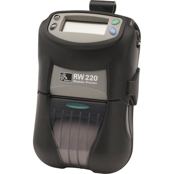 Zebra RW 220 Mobile Printer R2D-0UGA000N-00