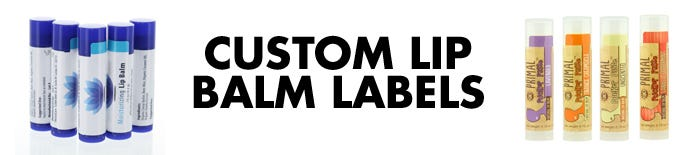 Custom Lip Balm Labels   LabelValue