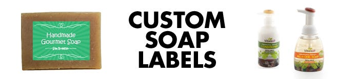 Custom Soap Labels | LabelValue