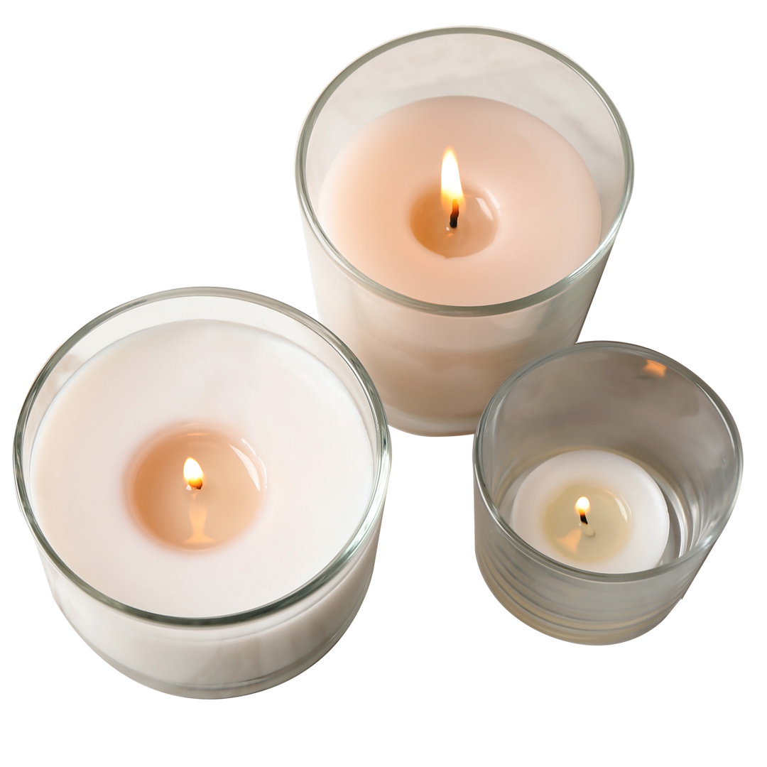 digitally printed candle labels